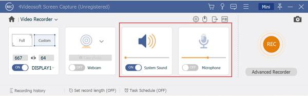 Paramètres audio personnalisés