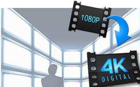 Μετατρέψτε το 1080p σε 4K