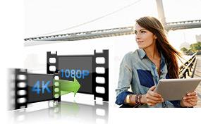 Převést 4K na 1080p