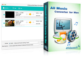 All Music Converter for Mac purchase
