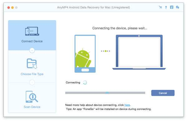 Android Data Recovery for Mac
