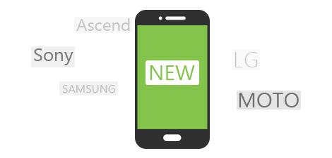 Unterstützen Sie die Android-Geräte