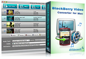 BlackBerry Video Converter for Mac purchase