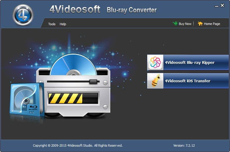 4Videosoft Blu Ray Converter screenshot