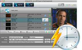 Easy Blu-ray to MP3 Converter for Mac
