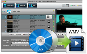 Convert Blu-ray/DVD to WMV on Mac