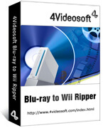 4Videosoft Blu-ray to Wii Ripper  boxshot