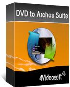 4Videosoft DVD to Archos Suite boxshot