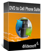 4Videosoft DVD to Cell Phone Suite boxshot