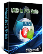 4Videosoft DVD to FLV Suite boxshot