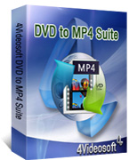 4Videosoft DVD to MP4 Suite boxshot