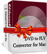 4Videosoft FLV Converter Suite for Mac boxshot