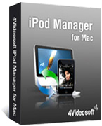 4Videosoft iPod Manager for Mac boxshot