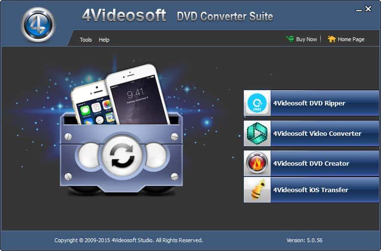 4Videosoft DVD Converter Suite Platinum