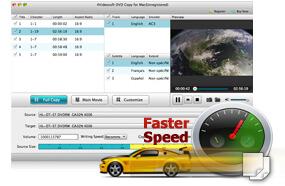 超級Mac DVD複製速度