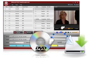 DVD de respaldo