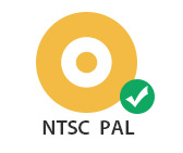 Support different TV standard as NTSC or PAL
