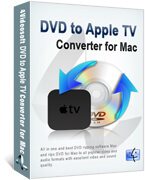 DVD to Apple TV Converter for Mac box