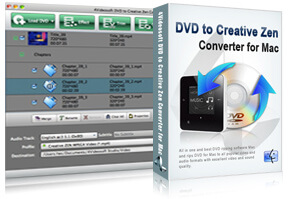DVD to Creative Zen Converter for Mac purchase