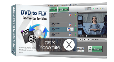 DVD to FLV Ripper for Mac