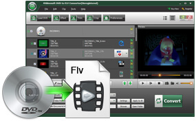 DVD to FLV Conversion