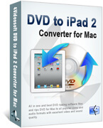 4Videosoft Mac DVD to iPad 2 Converter boxshot