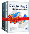 DVD to iPad 2 Suite for Mac box-s