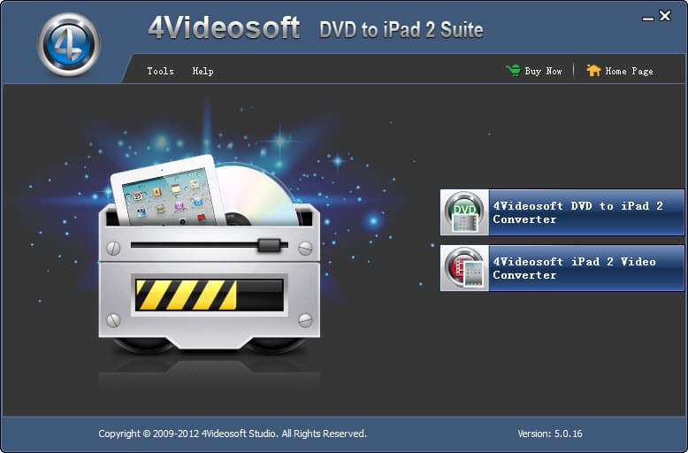 4Videosoft DVD to iPad 2 Suite