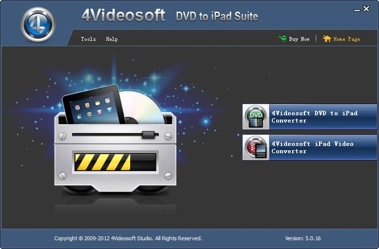4Videosoft DVD to iPad Suite