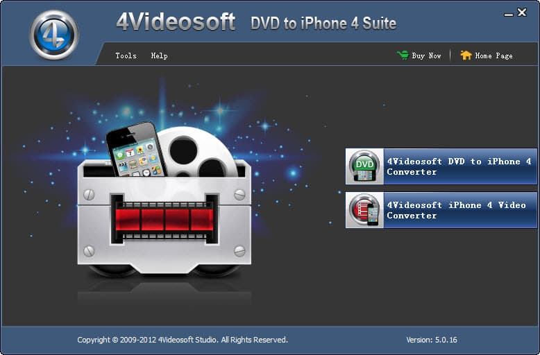Click to view 4Videosoft DVD to iPhone 4 Suite screenshots
