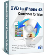 DVD to iPhone 4S Converter for Mac