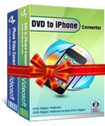 4Videosoft DVD to iPhone Suite boxshot