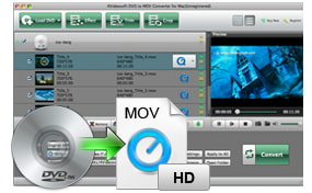 Convert DVD to MOV Mac