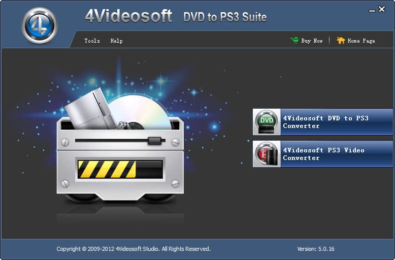 4Videosoft DVD to PS3 Suite Screen shot