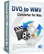 DVD to WMV Converter for Mac