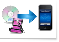 Convert DVD or video files to iPhone