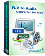 Convert FLV to MP3 Mac, 3GP to MP3 Converter