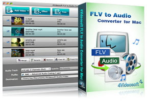 FLV to Audio Converter for Mac purchase