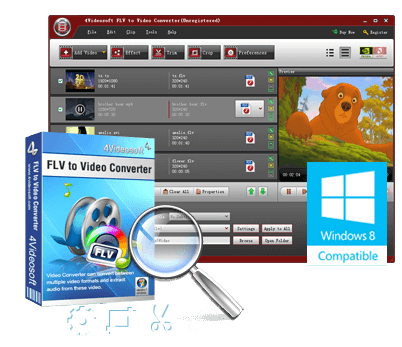 Best FLV to Video Converter