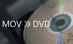 MOV to DVD