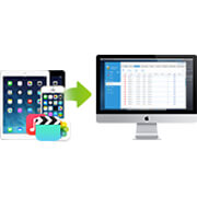Transfer between iOS device and Mac