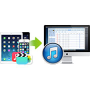 Transfer files from to Mac or iTunes