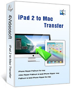 4Videosoft iPad 2 to Mac Transfer boxshot