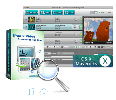 Best Mac iPad 2 Video Converter