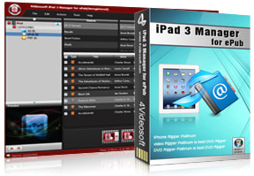 iPad 3 Manager for ePub purchase