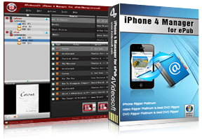 iPhone 4 Manager for ePub purchase