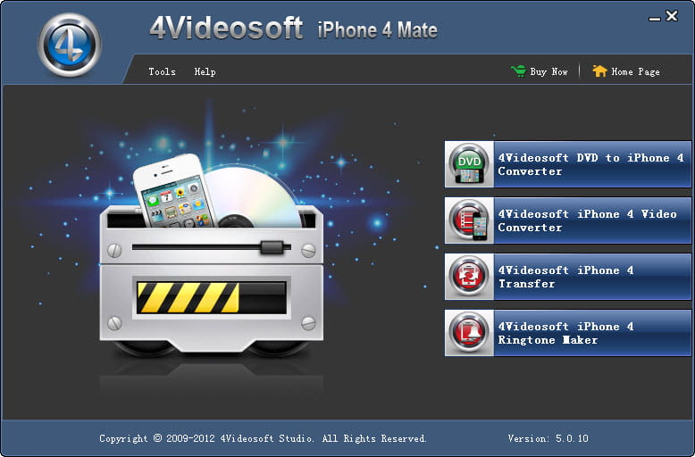 Click to view 4Videosoft iPhone 4 Mate screenshots
