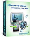 iPhone 4 Video Converter for Mac box-s