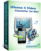 iPhone 4 Video Converter for Mac