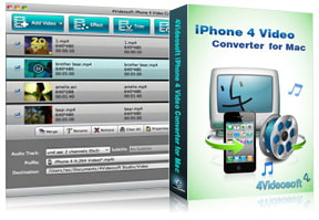 iPhone 4 Video Converter for Mac purchase